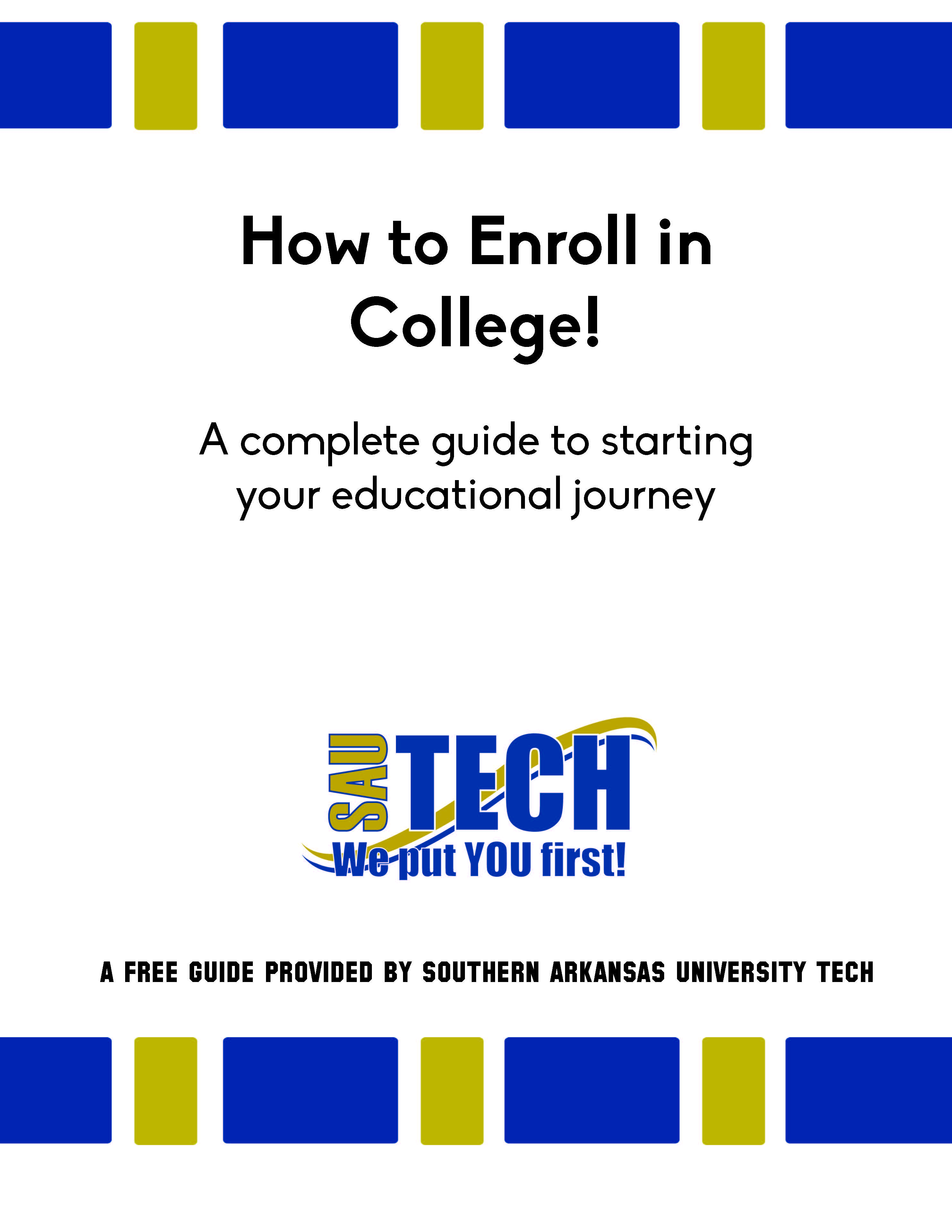 First page of Enrollment Guide